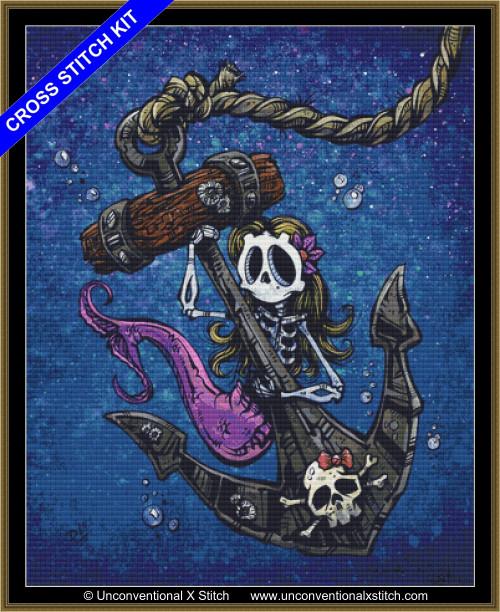 La Sirena cross stitch kit