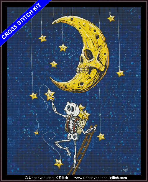 Reaching for the Stars cross stitch kit