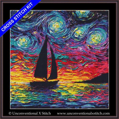 Come Sail Away cross stitch kit
