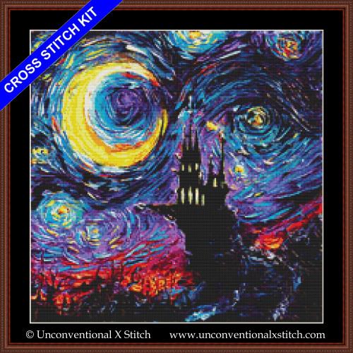 The Haunting of Van Gogh cross stitch kit