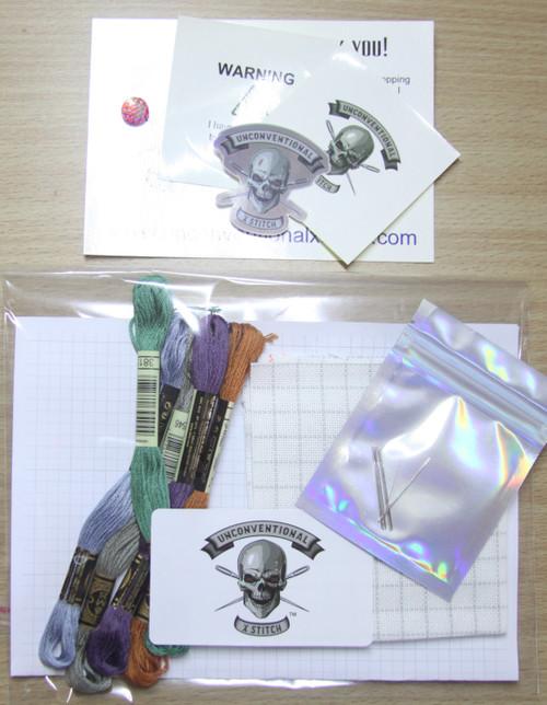 Freestyle #1 cross stitch kit - READY TO GO