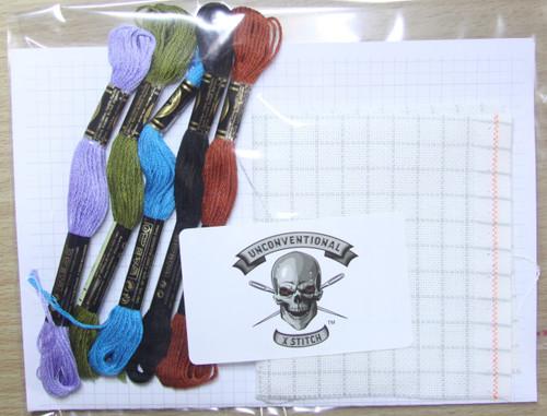 Freestyle #2 cross stitch kit - READY TO GO