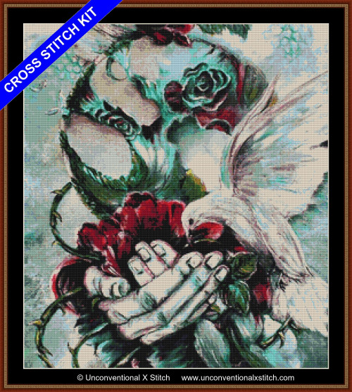 An Introduction of Hope cross stitch kit