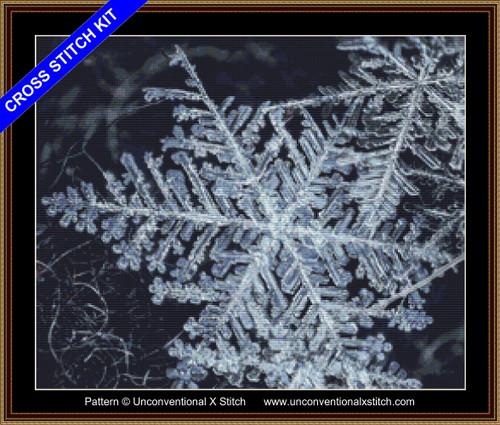 Snowflakes Fingerprints of Stars cross stitch kit