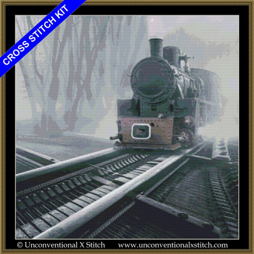 Romantic Tracks cross stitch kit