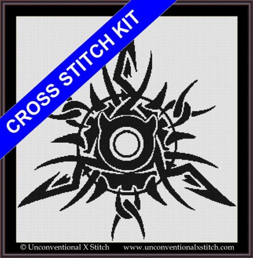 Taurus Sunburst cross stitch kit