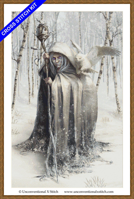 Witch of the White Wood cross stitch kit