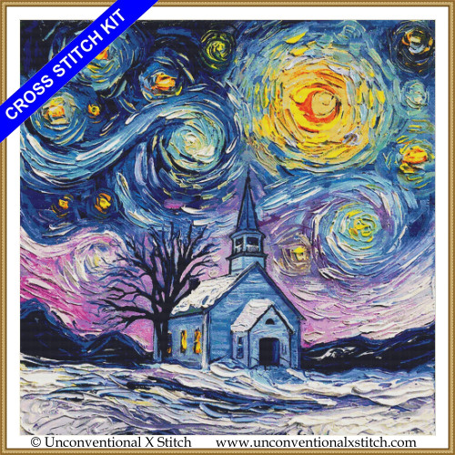 O Holy Night (XL edition) cross stitch kit