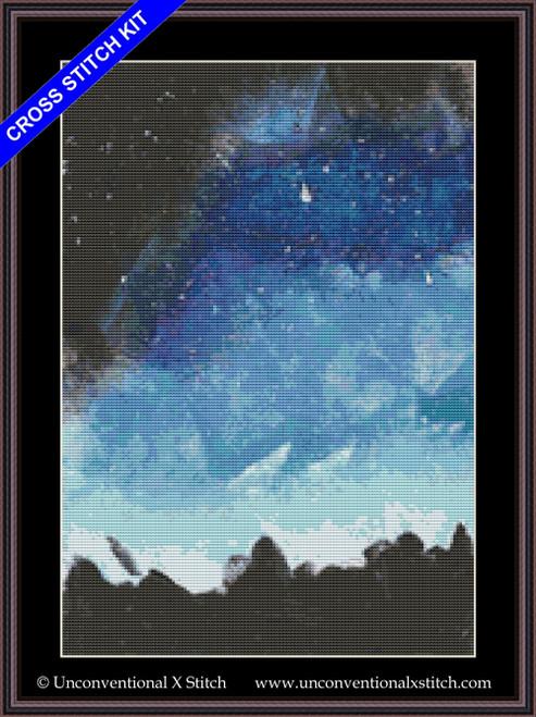 Night Sky cross stitch kit