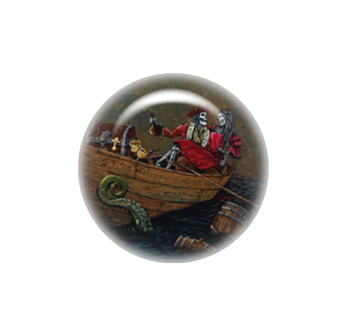 Pirates Booty needle minder - David Lozeau