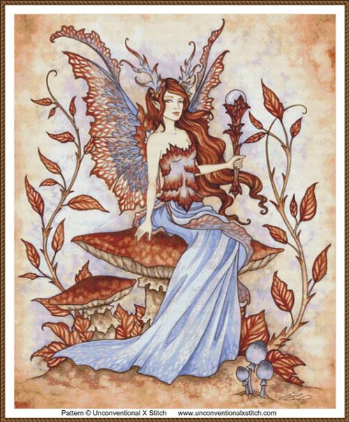 Autumn Enchantment cross stitch pattern