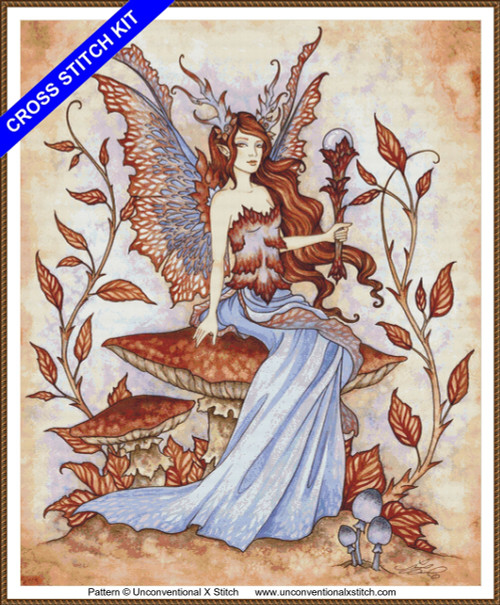 Autumn Enchantment cross stitch kit