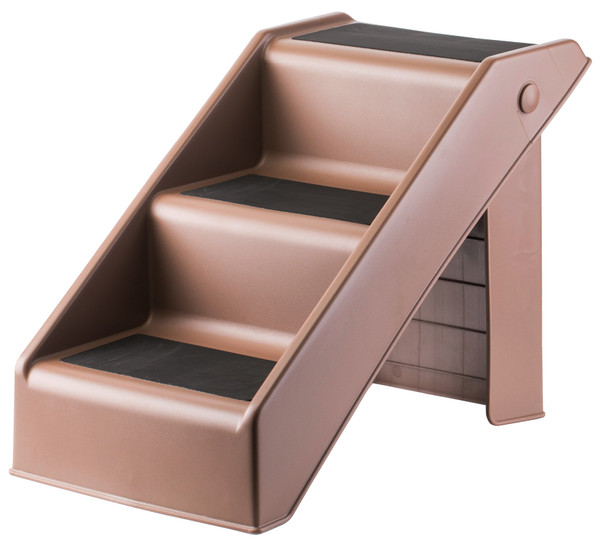 3 Step Foldable Non-slip Pet Stairs, Ramp for Dogs and Cats