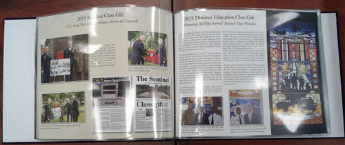 Class Gift History Supplement Pages