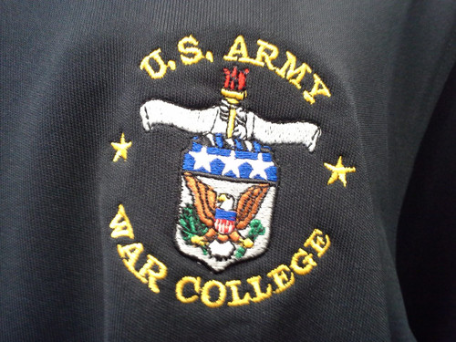 Mens Army War College Under Armour Polo