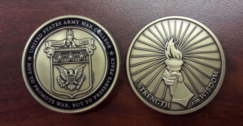 Army War College Coin