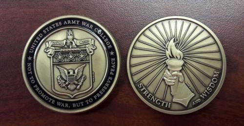 Army War College Coin