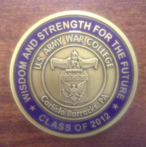 Class of 2012 Coin