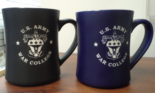 Etched Coffee Mug