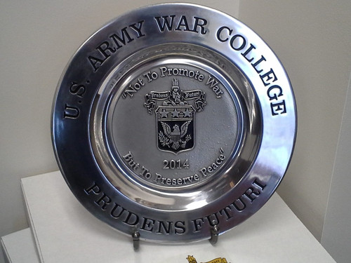 Class of 2014 Pewter Plate