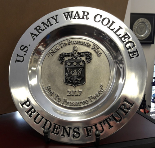 Class of 2017 Pewter Plate