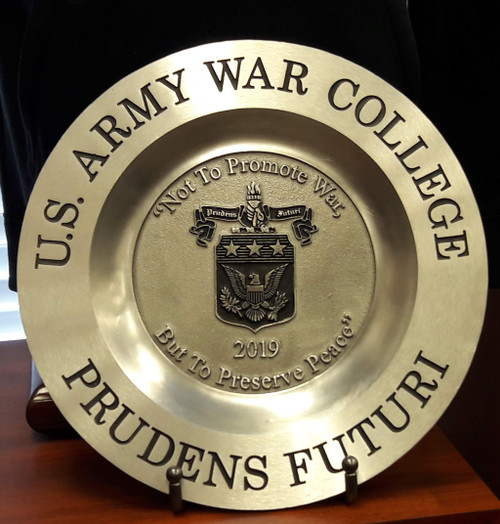 Class of 2019 Pewter Plate
