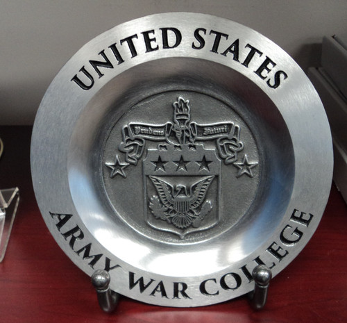 "6"" Pewter Plate"