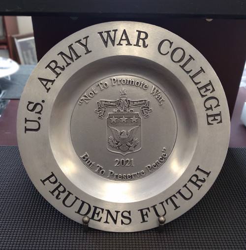 Class of 2021 Pewter Plate