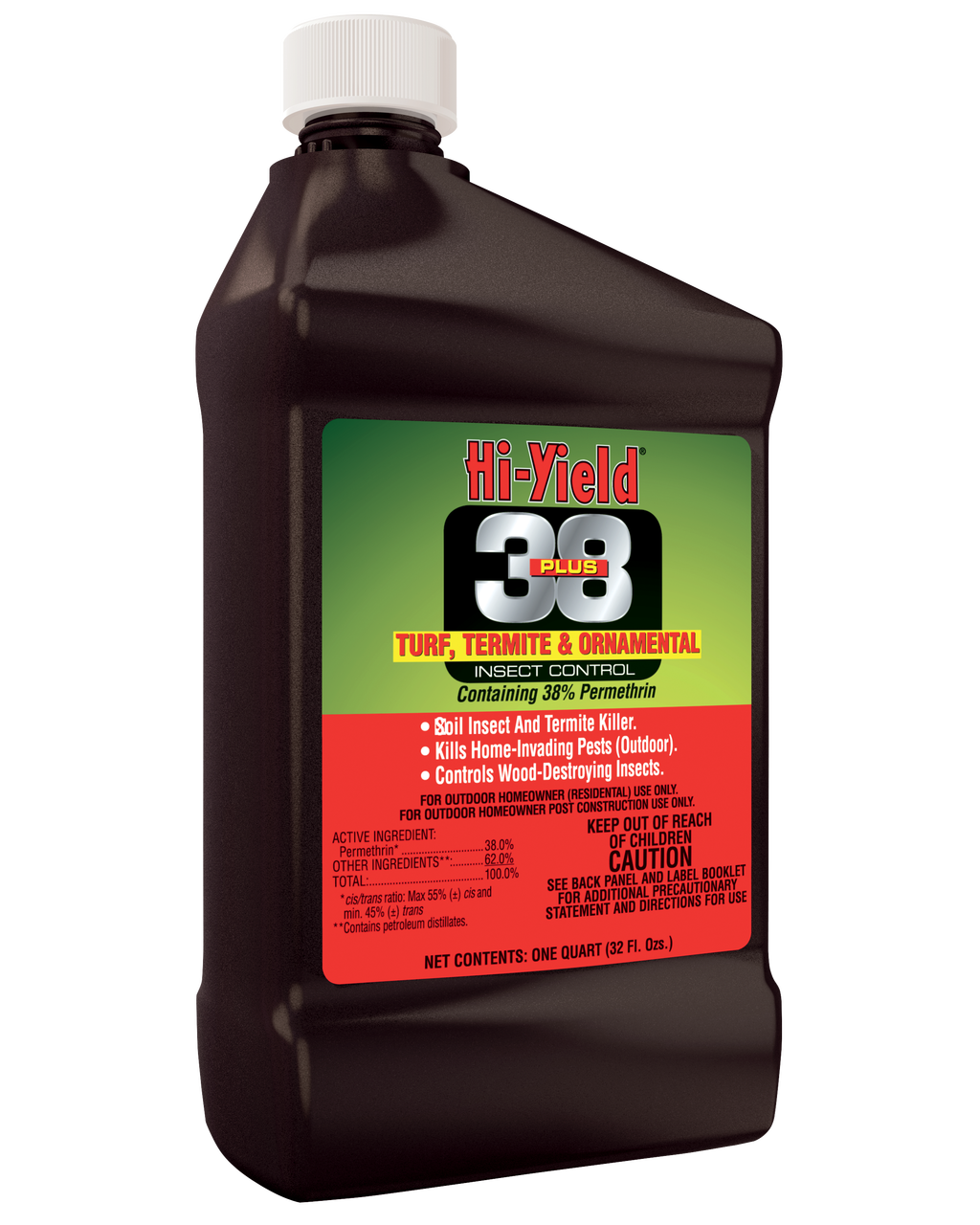 Hi-Yield 38 Plus Turf Termite & Ornamental Insect Control 32oz