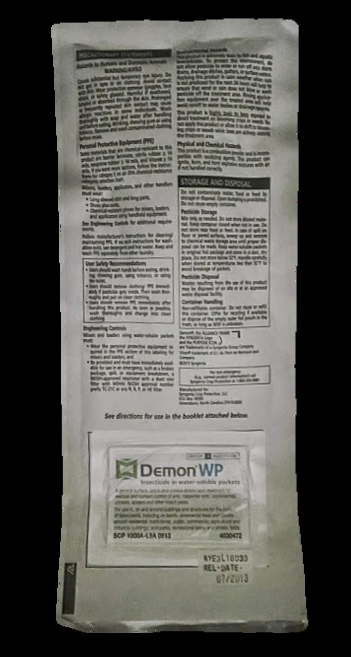 Demon WP Back