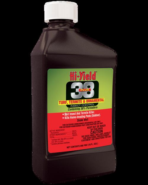 Hi-Yield 38 Plus Turf Termite & Ornamental Insect Control 16oz