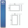 "Baseline Wall - Surface Mount 32"" - 75"""