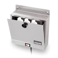 LOTION WARMER; MODEL TM-1; TABLE MOUNTED