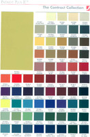 Color chart for Chattanooga ES2000
