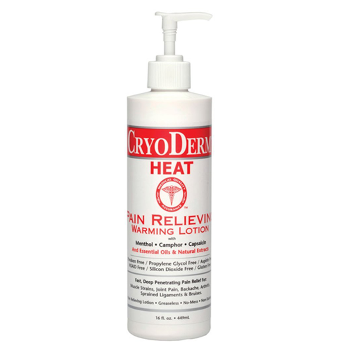 CRYODERM HEAT, 16 OZ. LOTION