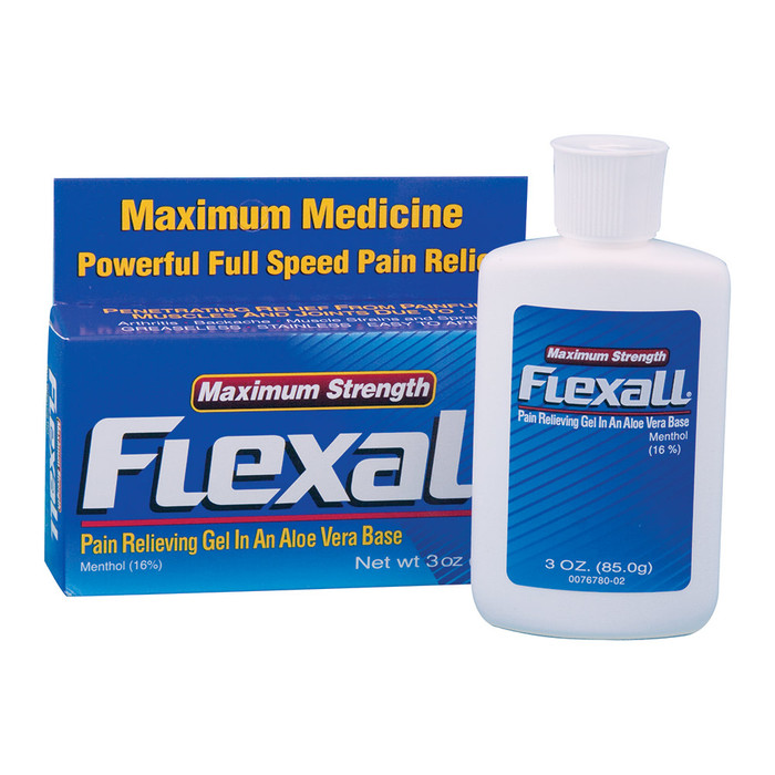 FLEXALL 454 MAXIMUM STRENGTH PAIN RELIEVING GEL 3OZ