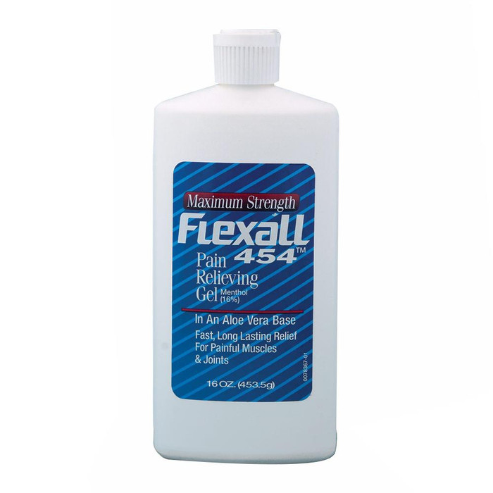 FLEXALL 454 MAXIMUM STRENGTH PAIN RELIEVING GEL PINT