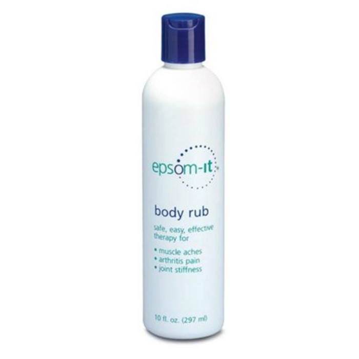EPSOM IT BODY RUB LOTION, 10OZ BOTTLE