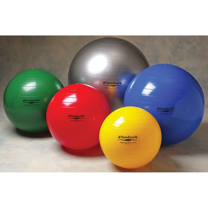 "THERA-BAND EXERCISE BALL, YELLOW, 45 CM / 18"""