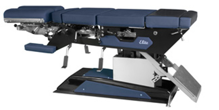 New Elite Hylo and Elevation Chiropractic Table