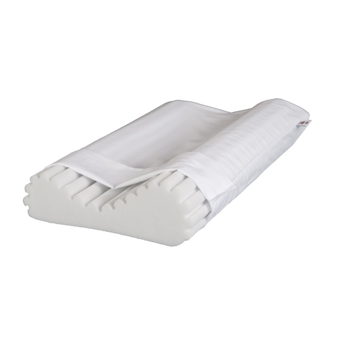 "ECONO-WAVE SUPPORT PILLOW, 22"" X 15"" WITH 4-1/8"" AND 4-7/8"" LOBES"