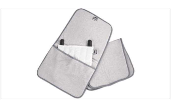 """HYDROCOLLATOR FOAM-FILLED POCKET TERRY COVER, STANDARD SIZE 17"""" L X 27"""""""