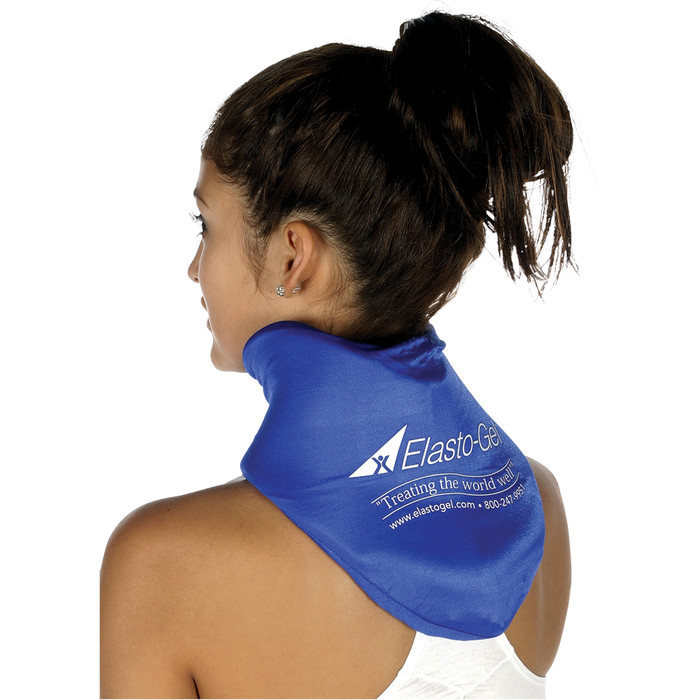 ELASTO GEL HOT/COLD CERVICAL COLLAR, FLEXIBLE, MICROWAVABLE
