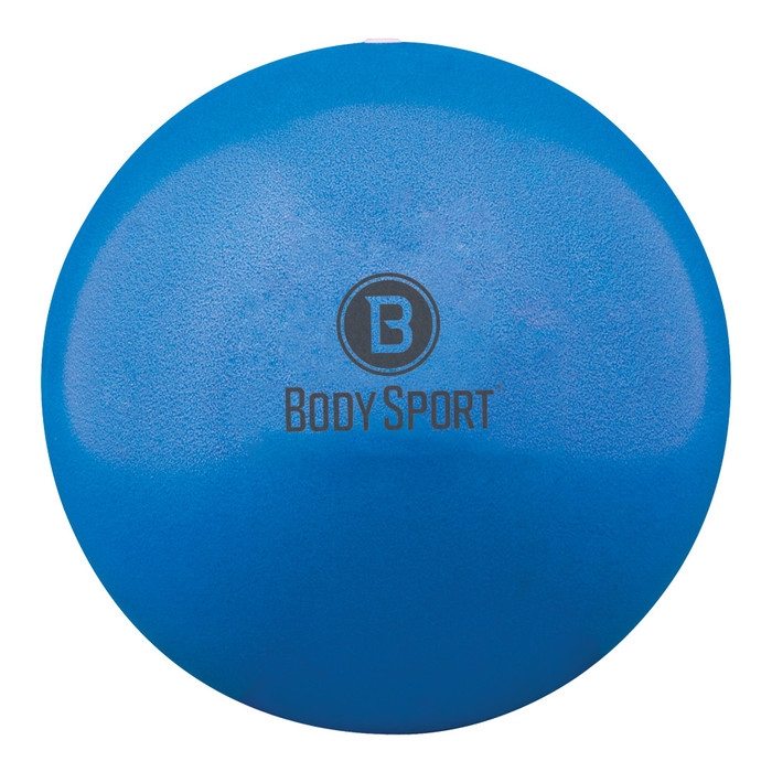 """BODY SPORT FUSION BALL FITNESS BALL, BLUE, INFLATES 7 1/2""""-10"""""""