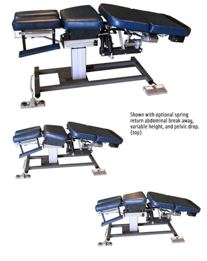 MT Tables - Manual Flexion Chiropractic Table