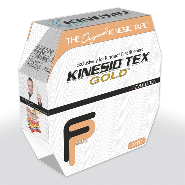 "KINESIO TAPE TEX GOLD FP, BULK 2"" X 103.3', BEIGE"