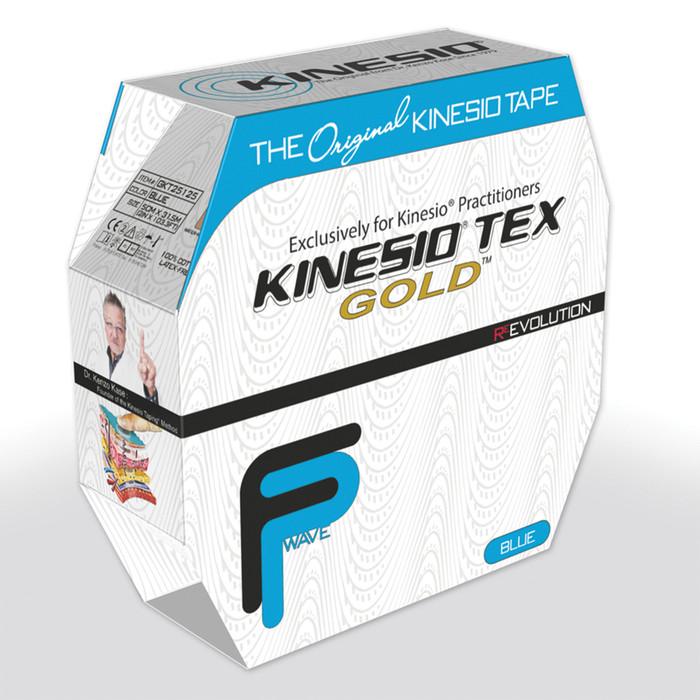 "KINESIO TAPE TEX GOLD FP, BULK 2"" X 103.3', BLUE"