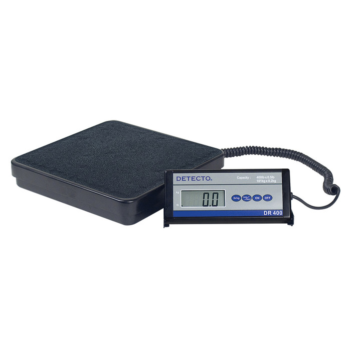 DR400 DIGITAL WEIGHT SCALE, 400LB, AC ADAPTOR