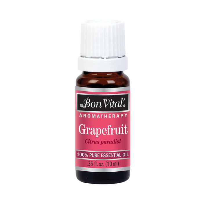 BON VITAL ESSENTIAL OIL, GRAPEFRUIT, 10 ML .35 FLUID OZ BOTTLE