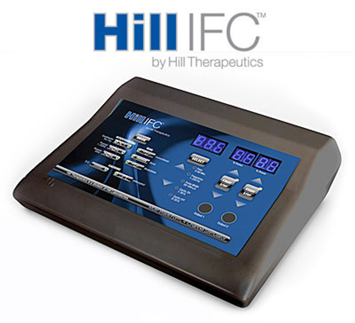 Hill IFC Interferential, Premod, Russian Stim, Galvanic and TENS